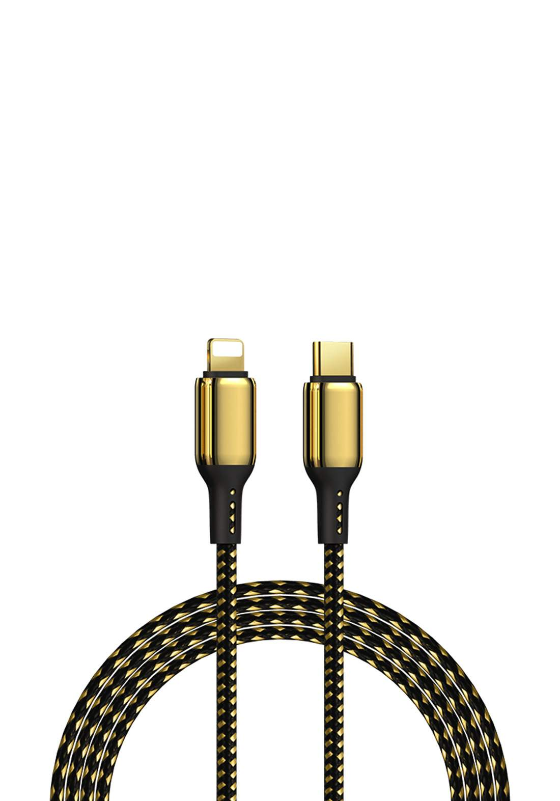 WIWU USB-A TO Type 1.2 m Special Design 18K Data Cable  - Gold كابل