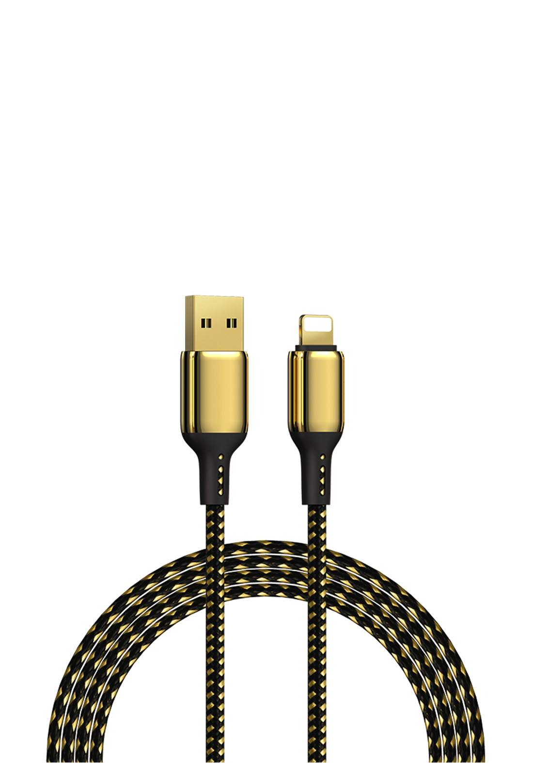 WIWU USB-A TO TypE-C  2m Special Design 18K Data Cable  - Gold كابل