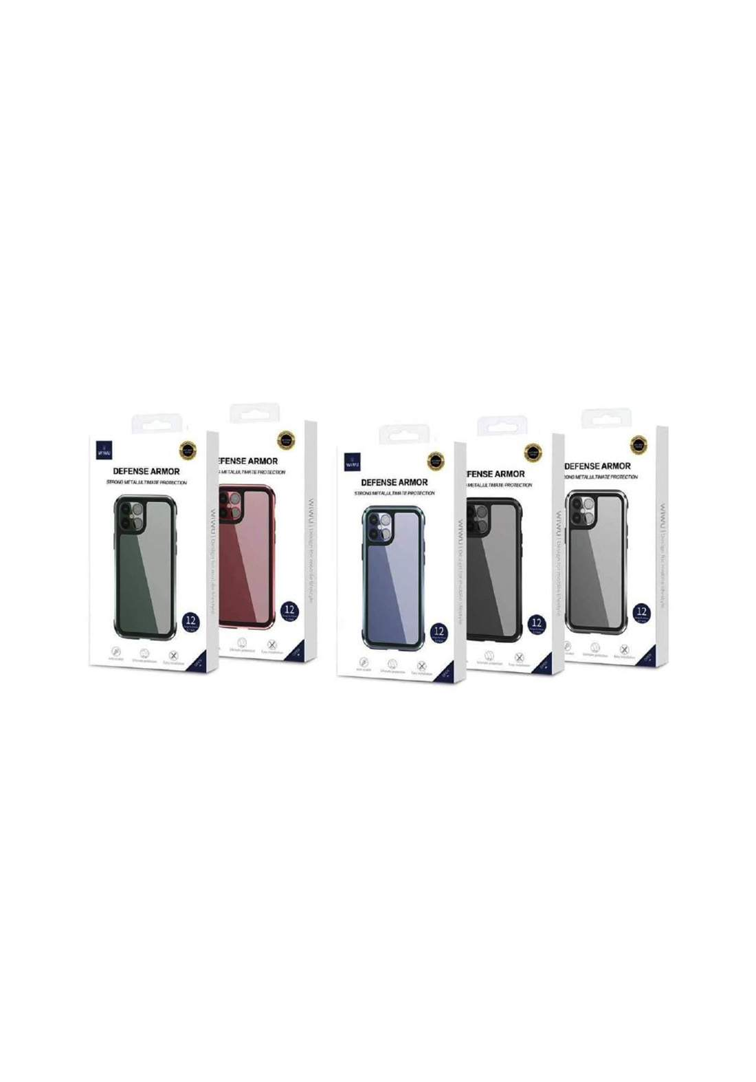 WIWU Defense Armor Phone Case For iPhone 12 Pro MAX