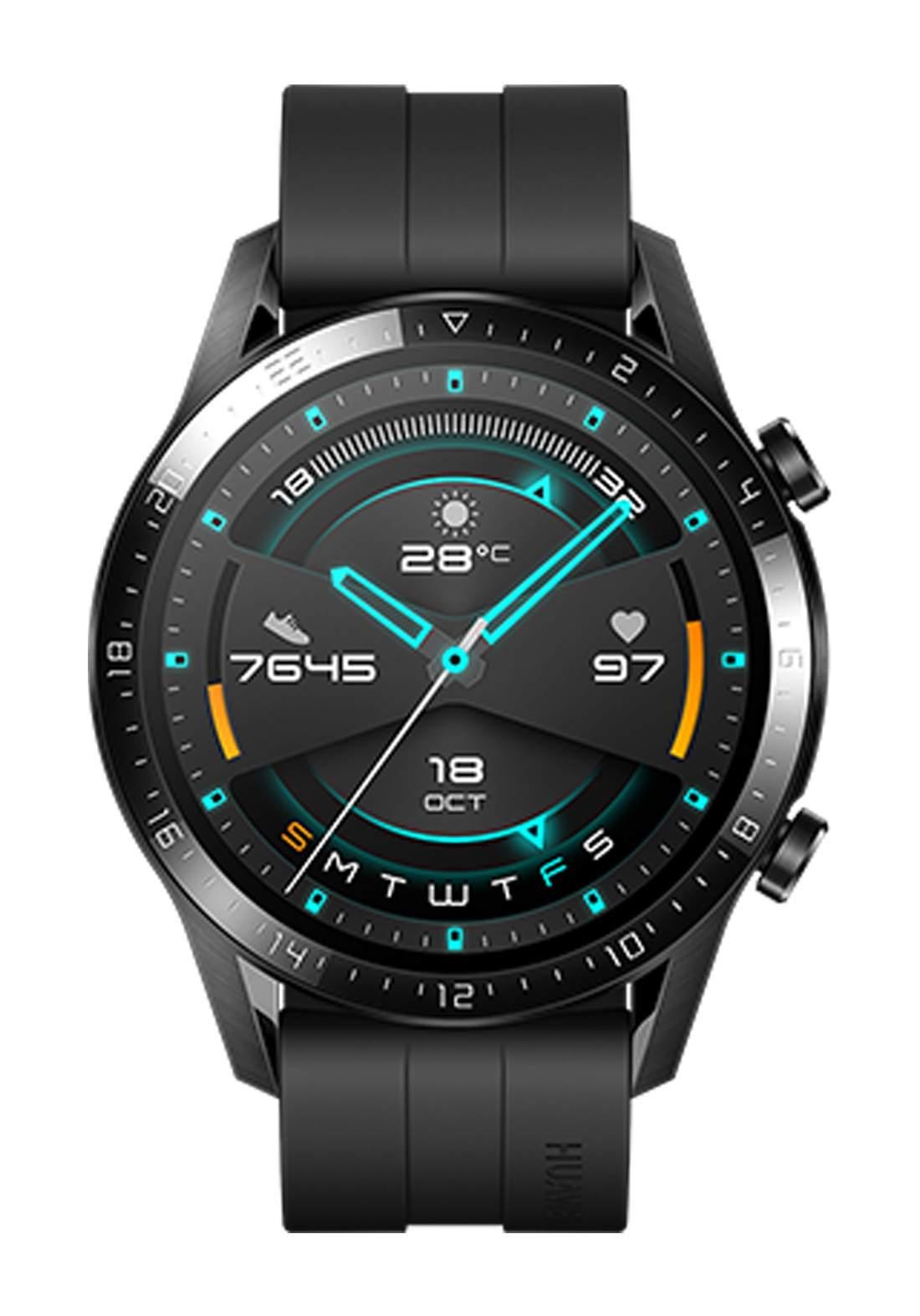 HUAWEI GT 2 Bluetooth Smart Watch - Black ساعة ذكية