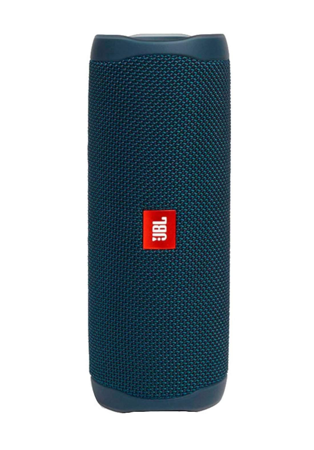 JBL Flip 5 Portable Waterproof Wireless Speaker -  Blue مكبر صوت