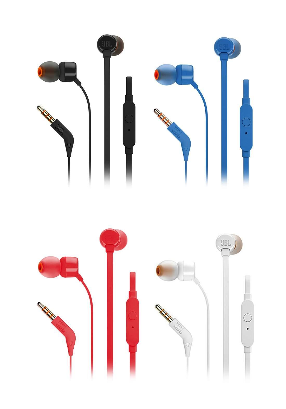 JBL T110 Wired Earphones  سماعة