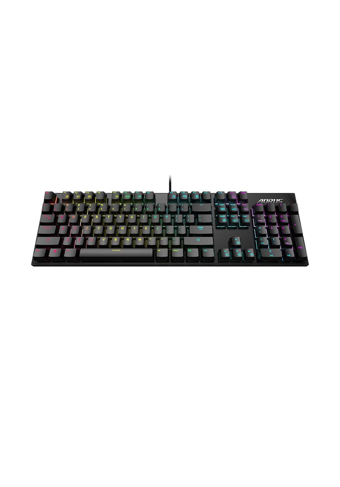 Aorus K1 Mechanical Gaming Keyboard - Black كيبورد