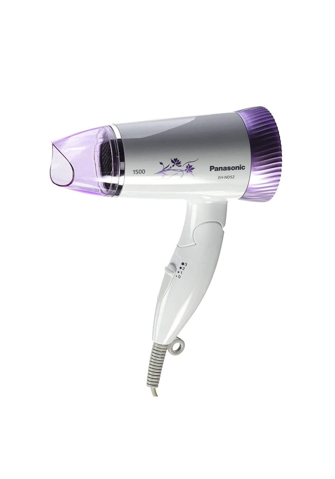 Panasonic EH-ND52-V Grooming Hair Dryer 1500w مجفف شعر