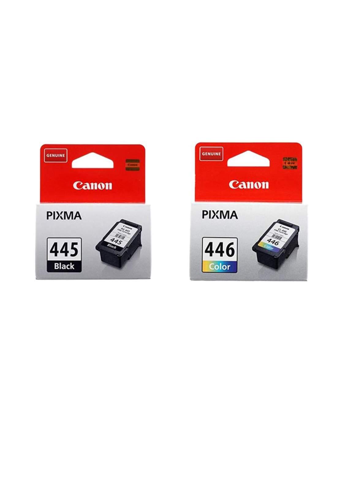 Canon 445 & 446 Cartridge Combo Pack مجموعة خراطيش حبر