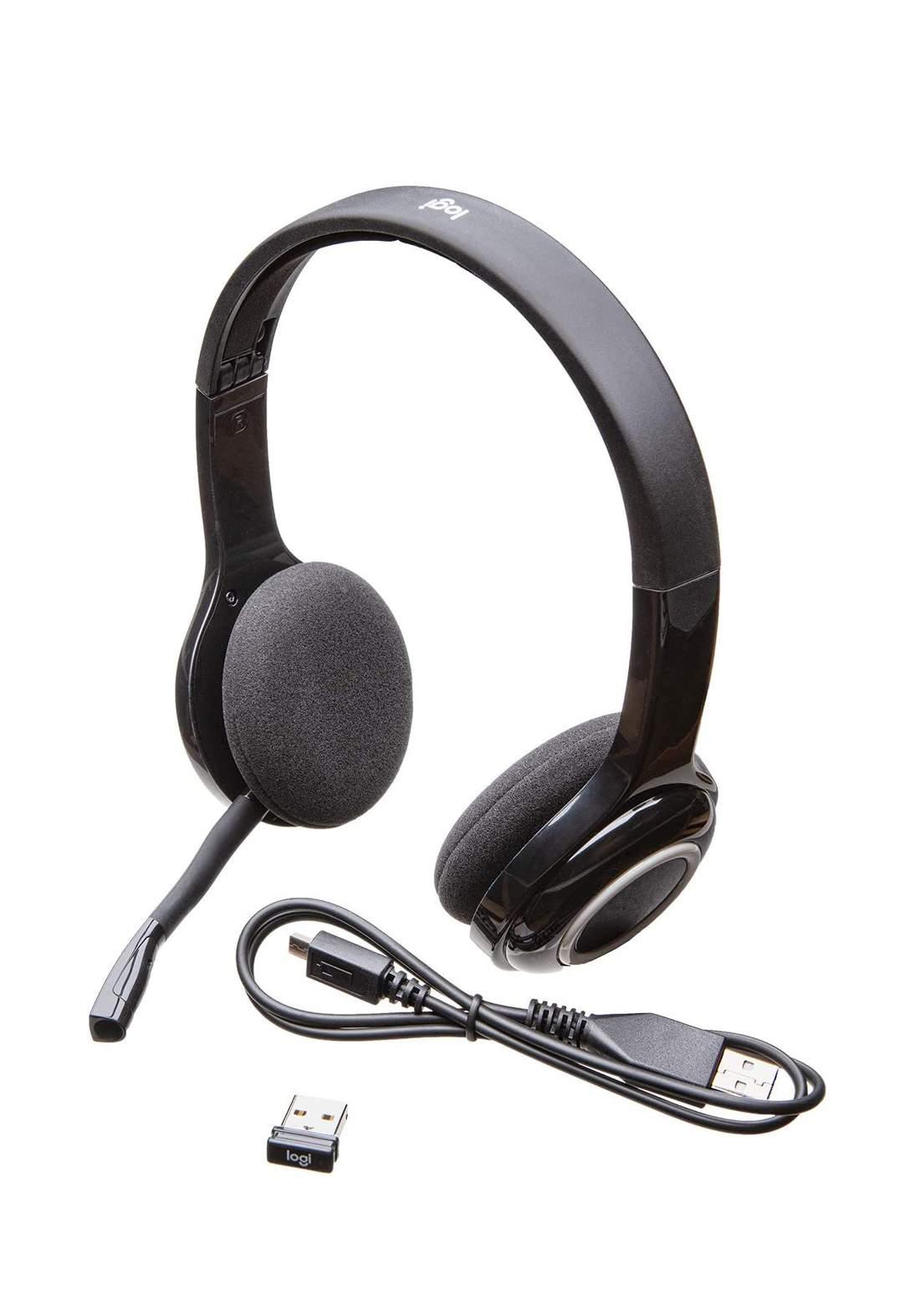 Logitech H600  Wireless Headset - Black سماعة لا سلكية