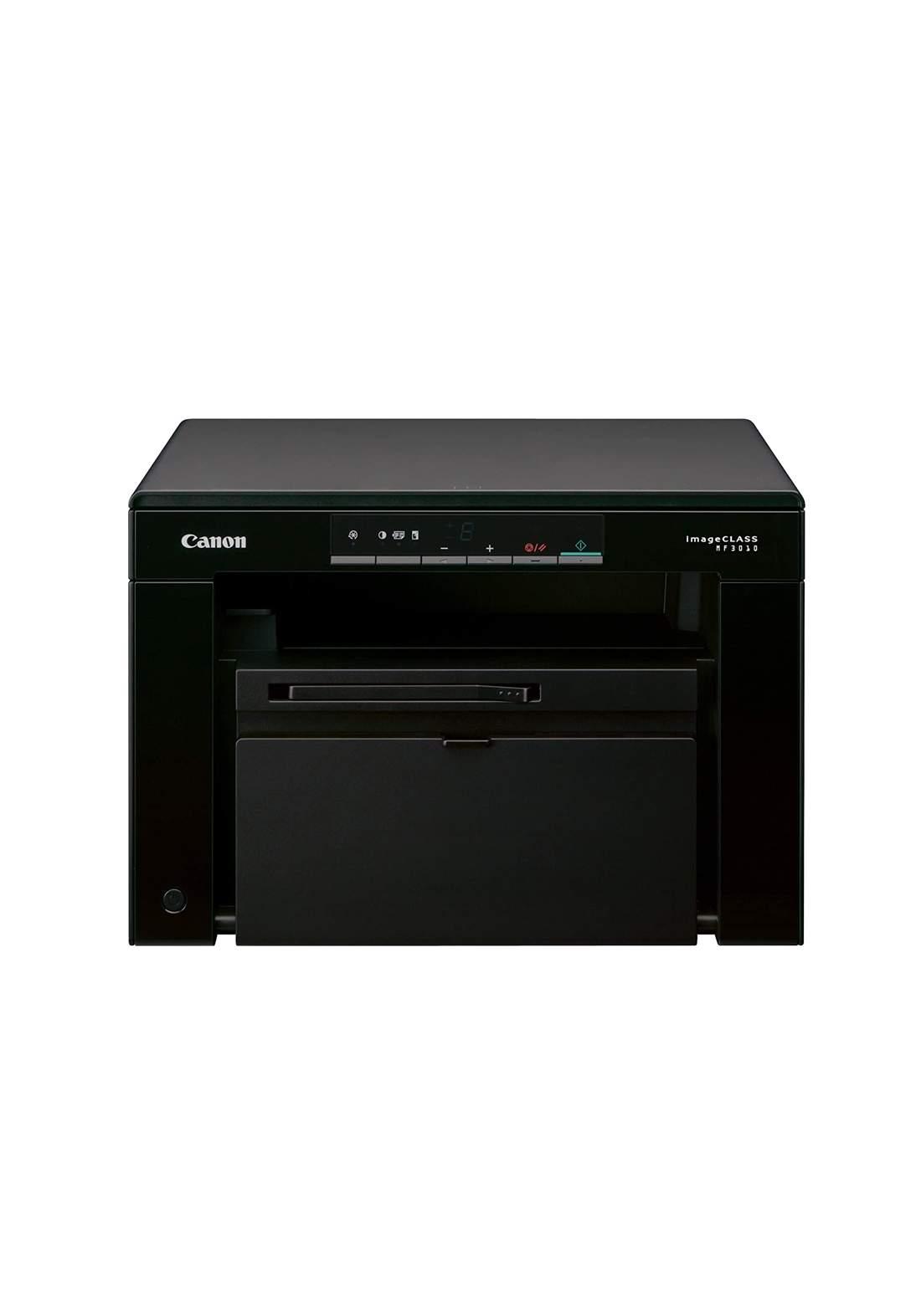 Canon i-SENSYS MF3010 Multifunction Laser Printer - Black طابعة