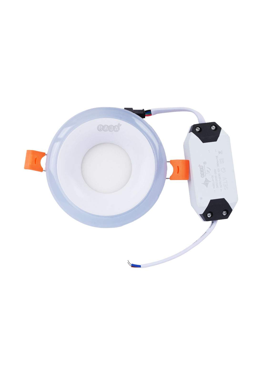 Raja LED  Panal Two Color Recessed 3+ 6 W ضوء ليد دائري