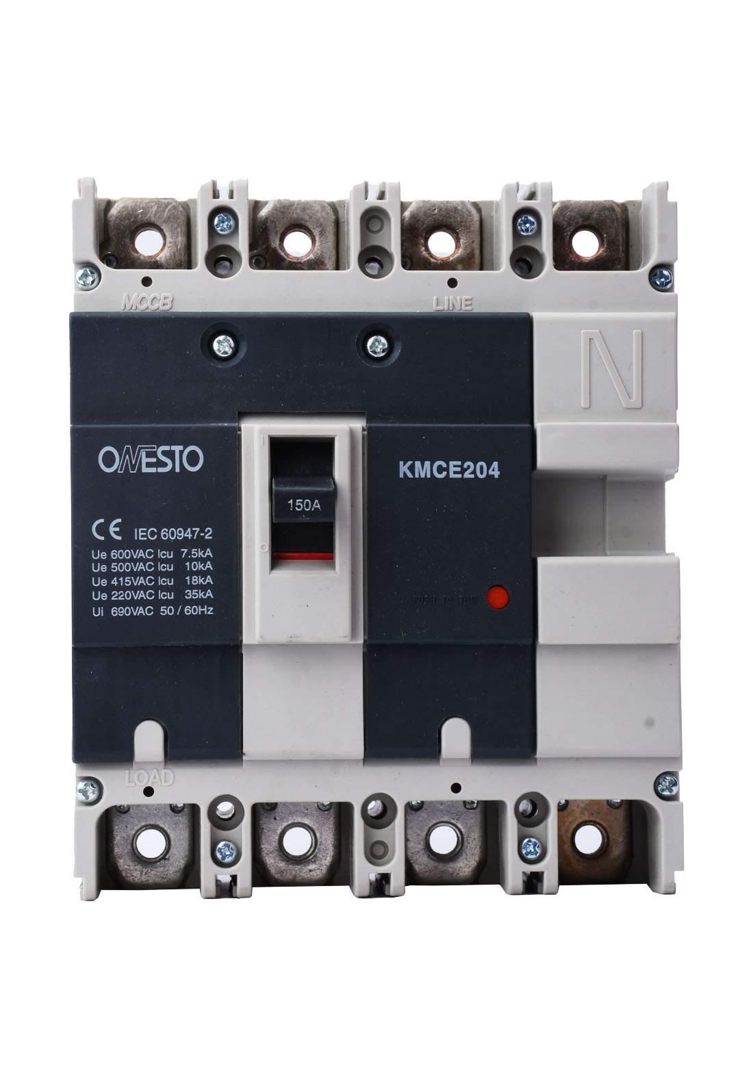 Onesto KMCE204 Circuit Breaker 150 A قاطع تيار الكهرباء هوائي (جوزة)