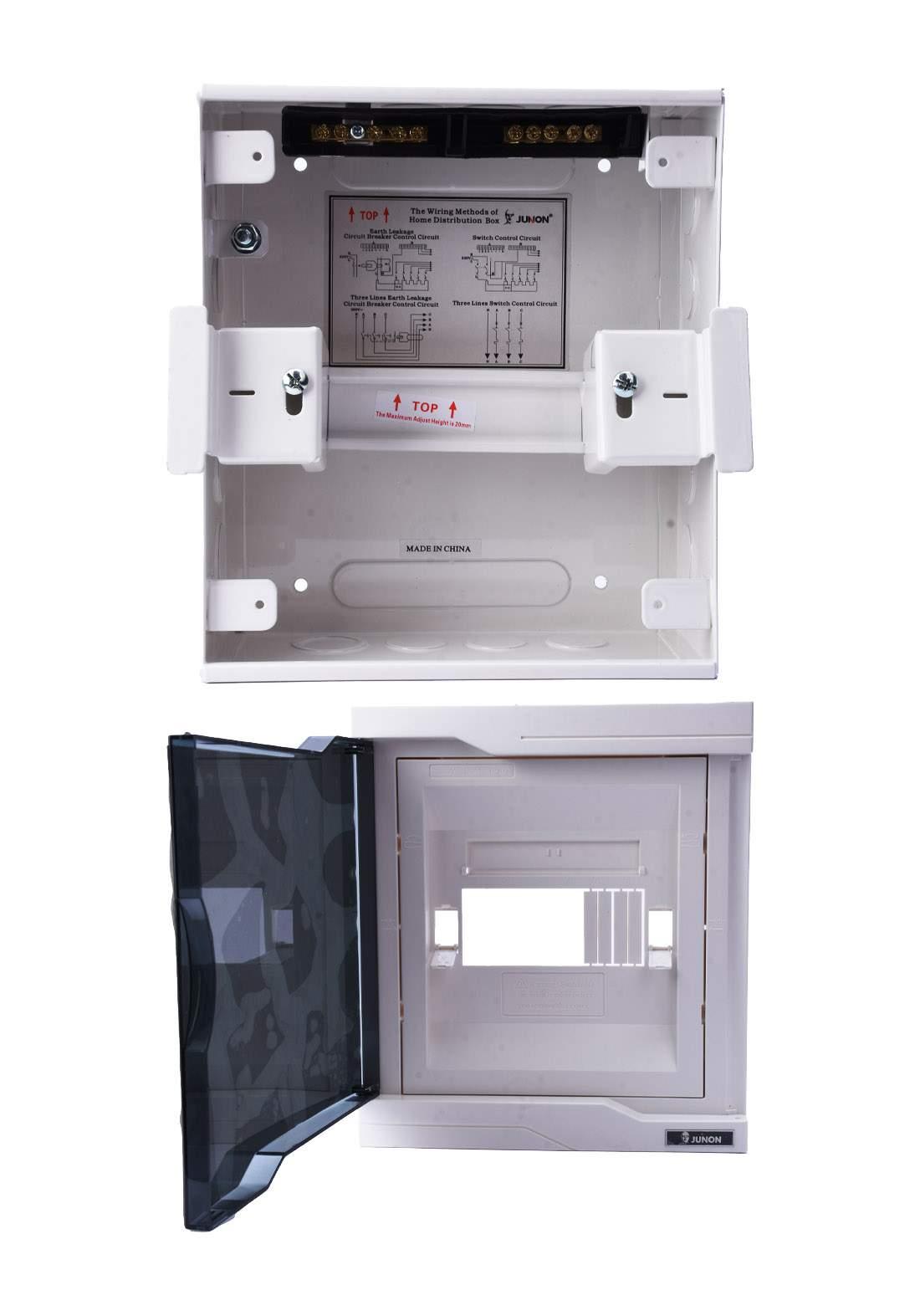 Junon DX18-A06TWB Power Distribution Box 6 Ways بوكس توزيع الكهرباء