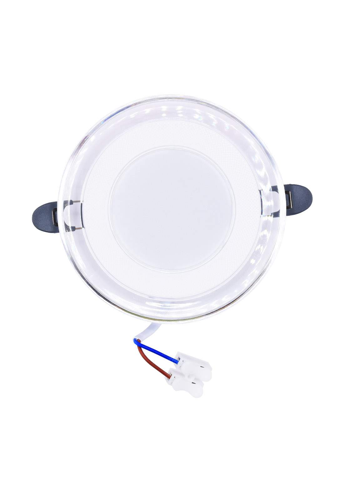 Raja LED SMD Downlight Slim Three Color Change 5 W ضوء ليد دائري زجاجي