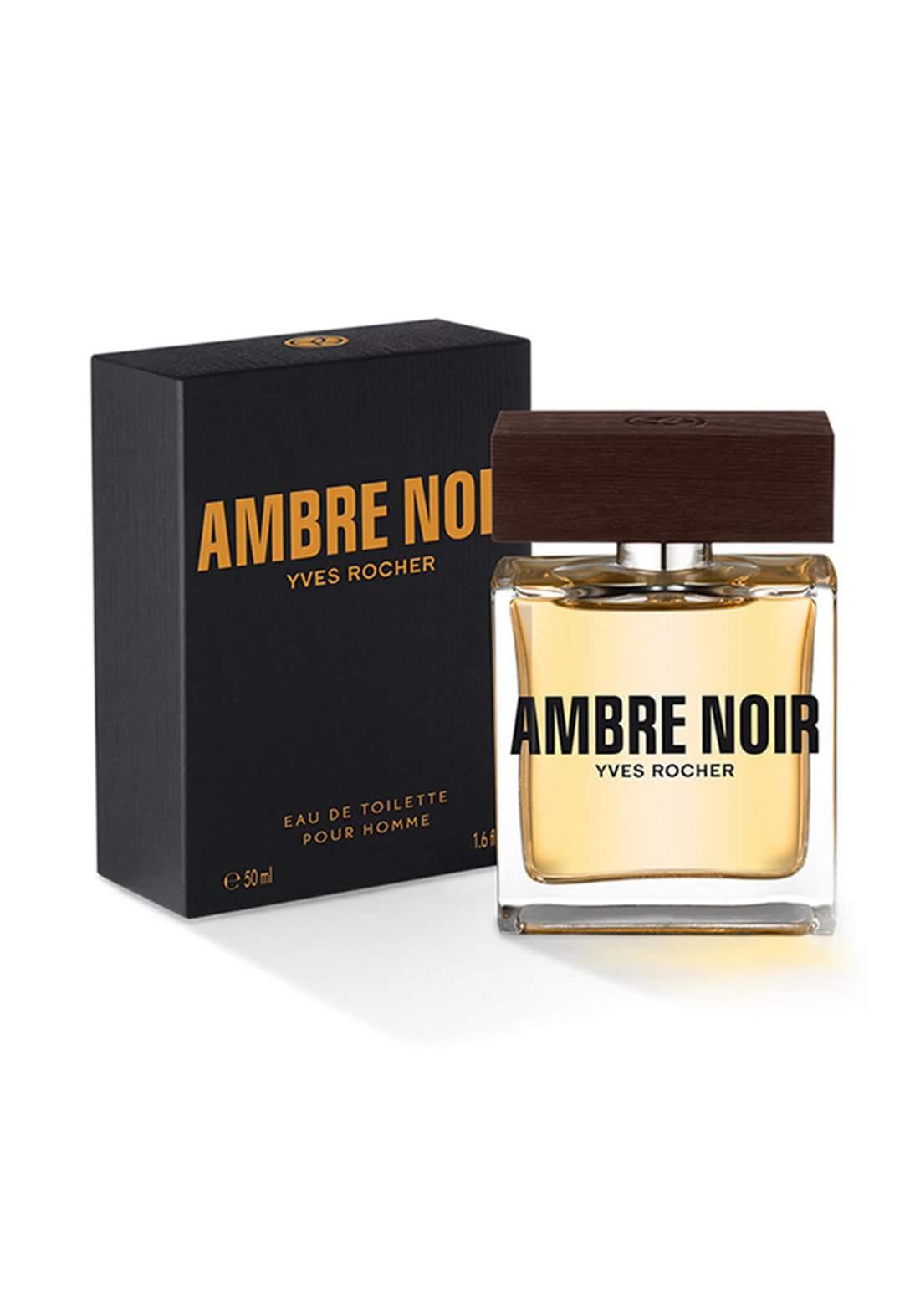 87375 Yves Rocher Ambre Noir Men Perfume 50ml عطر رجالي