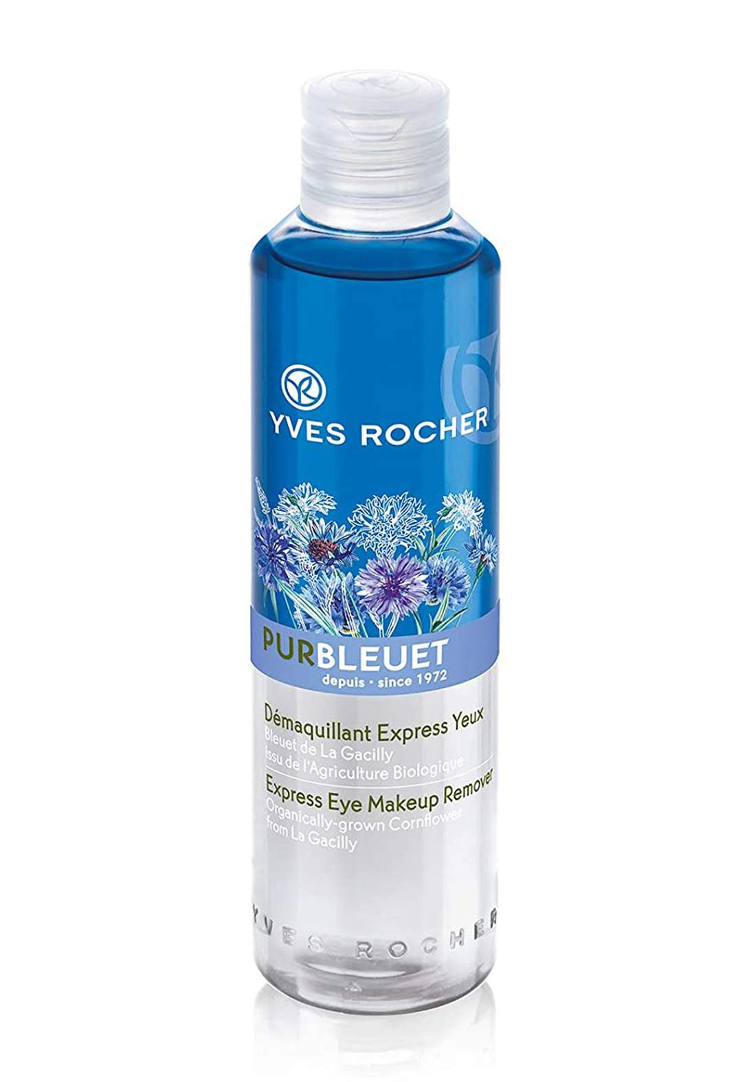 Yves Rocher 46463 Pur Bleuet Express Eye Makeup Remover 200 ml مزيل مكياج العيون