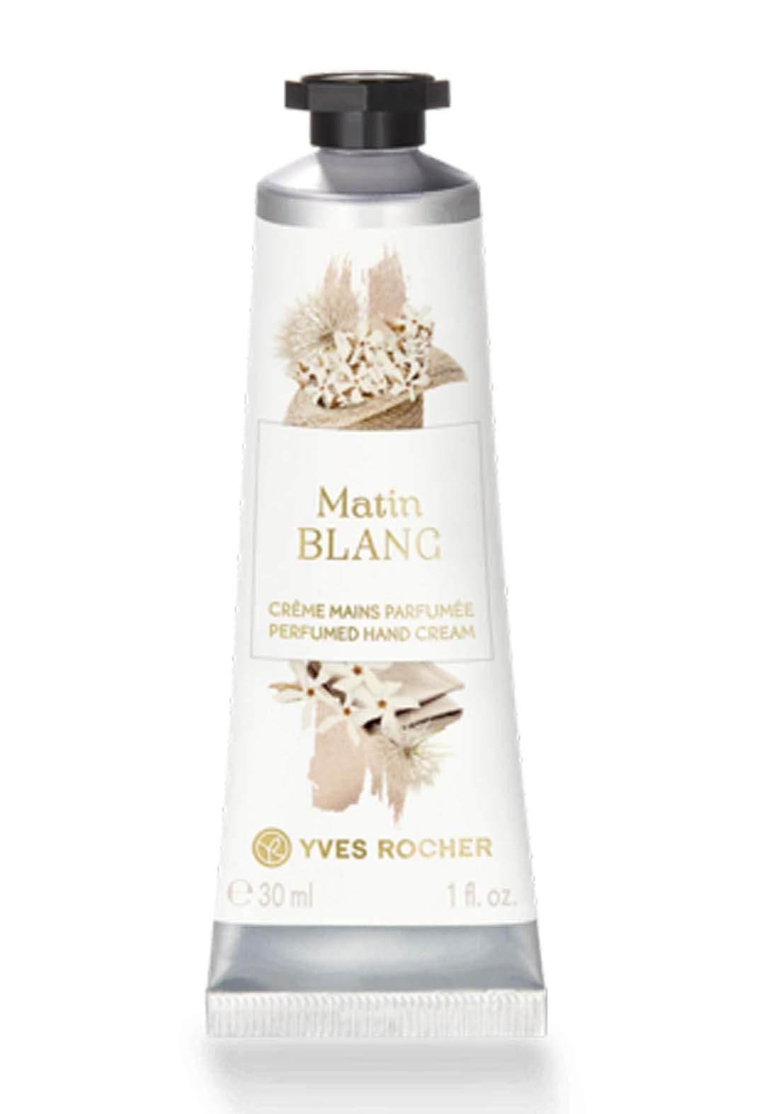Yves Rocher 61511 Matin Blanc Perfumed Hand Cream -كريم اليد