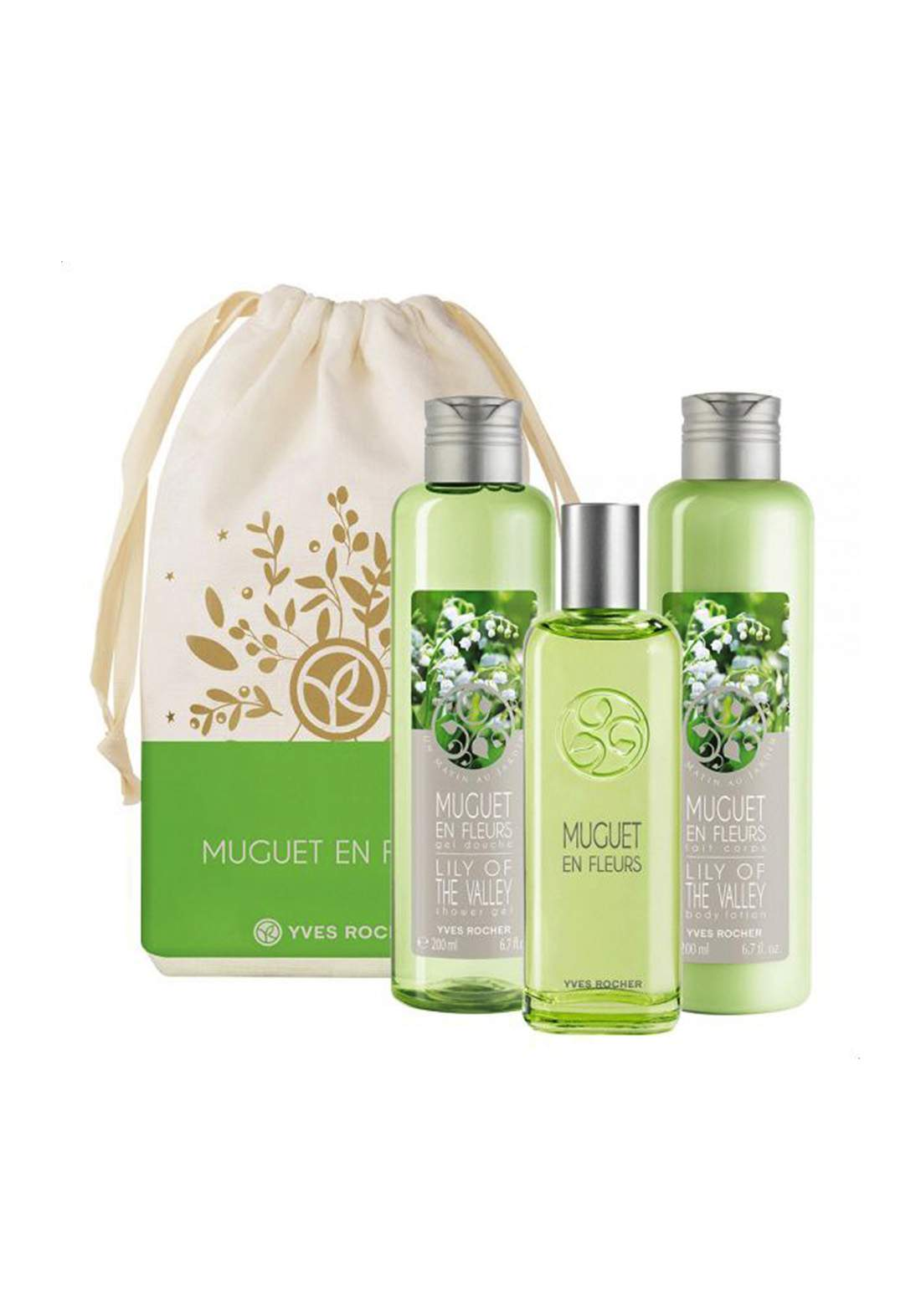 Yves Rocher 52706 Gift Set Un Matin Au Jardin Lily Of The Valley   مجموعة ايف روشيه