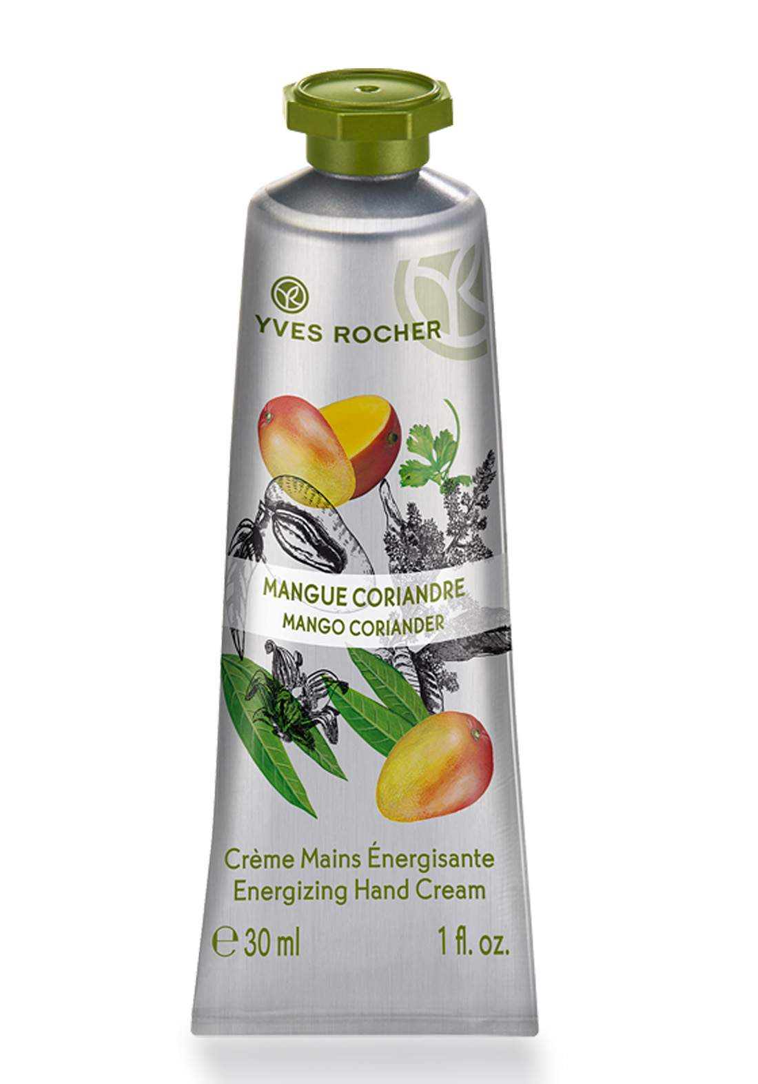 Yves Rocher 27714 Mango Coriander Hand Cream 30 ml  كريم مرطب لليدين