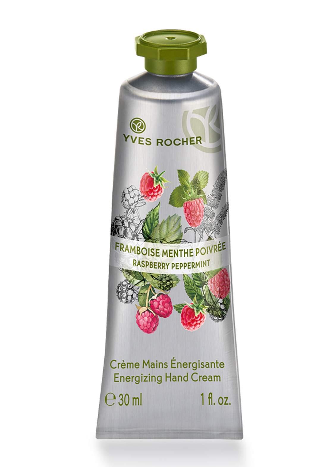 Yves Rocher 29122 Energizing Raspberry Peppermint Hand Cream 30 ml  كريم مرطب لليدين