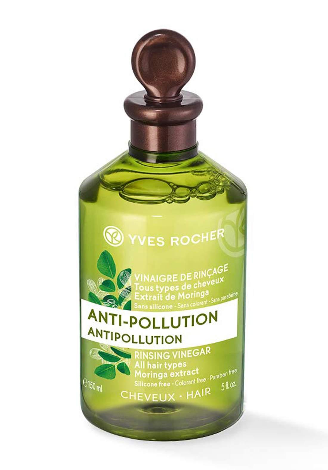Yves Rocher 25725 Vinegar Anti-Pollution Moringa Extract 150ml خل واقي للشعر