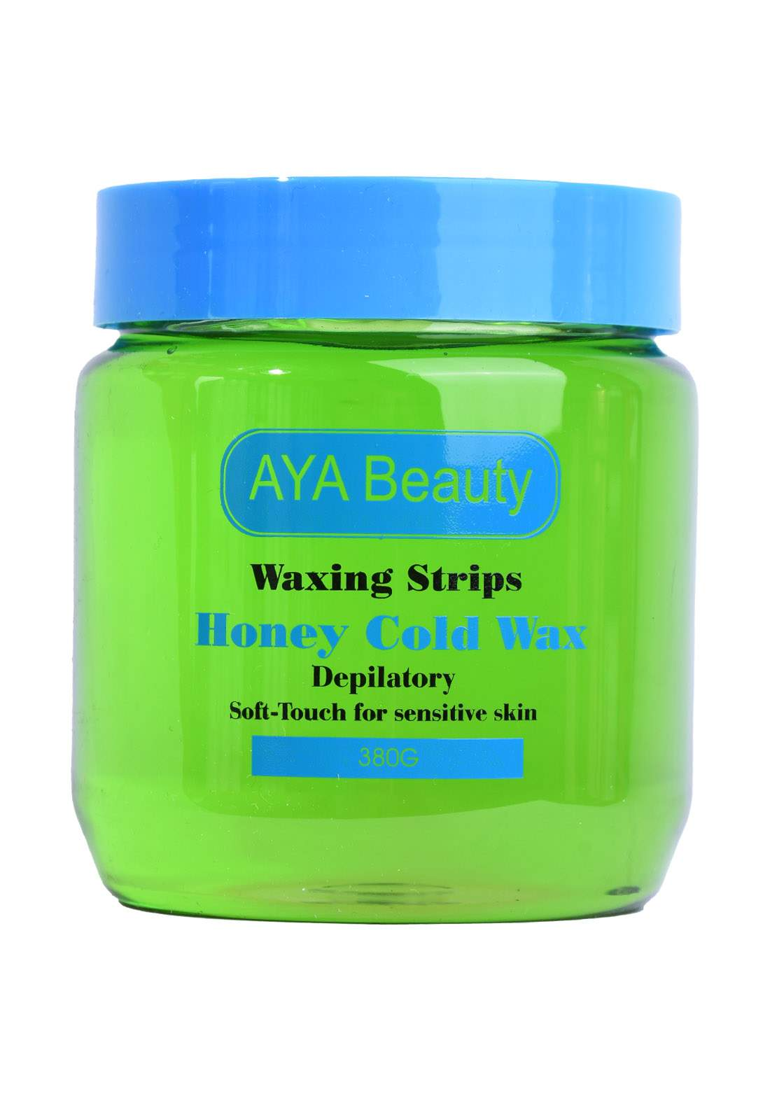 Aya Beauty Waxing Strips Honey Cold Wax شمع لأزالة الشعر