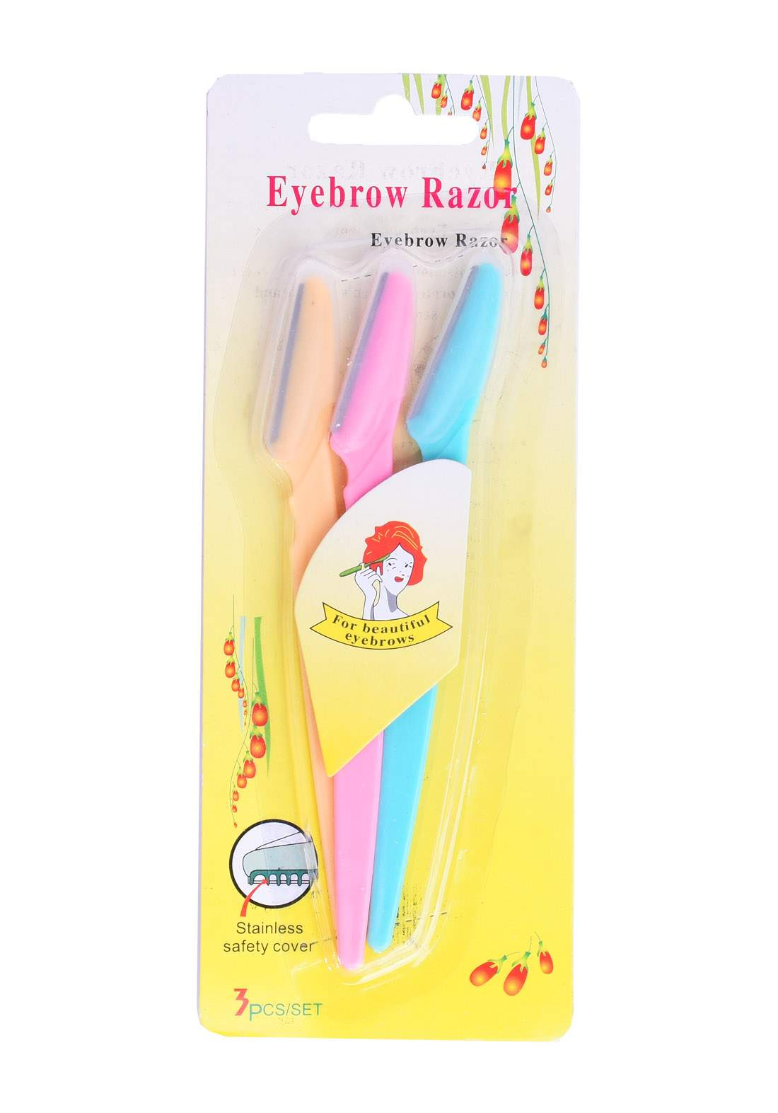 Eyebrow Razors Set سيت شفرات للحاجب