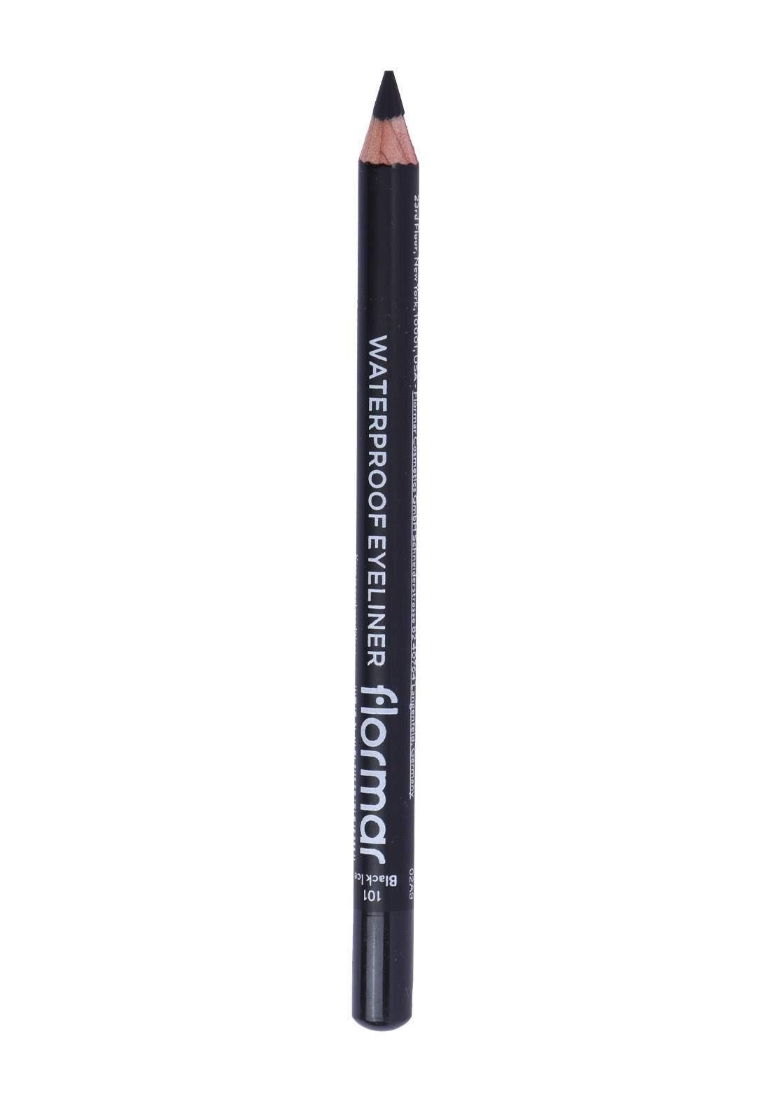 Flormar  Eyeliner - Waterproof Eyeliner NO. 101-Black قلم تحديد العين