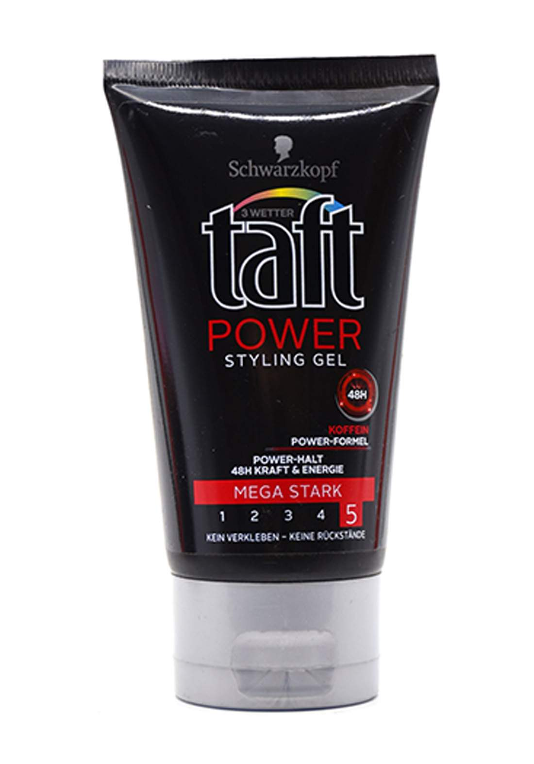Schwarzkopf taft power styling gel mega strong 5 Hair Gel -150 ml جل تصفيف شعر رجالي