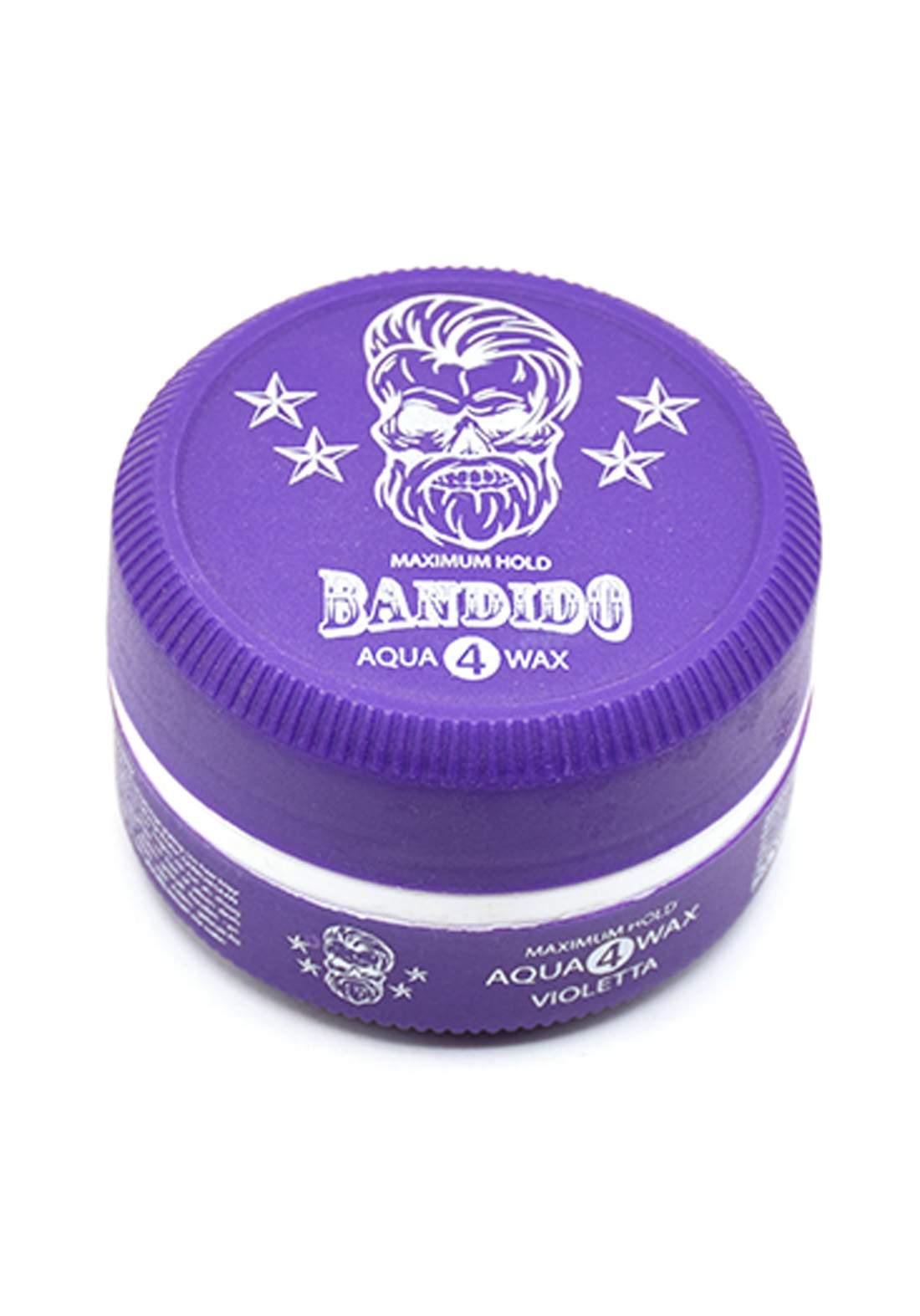 Bandido Aqua 4 Wax  Maximum Hold-150ml جل تصفيف الشعر