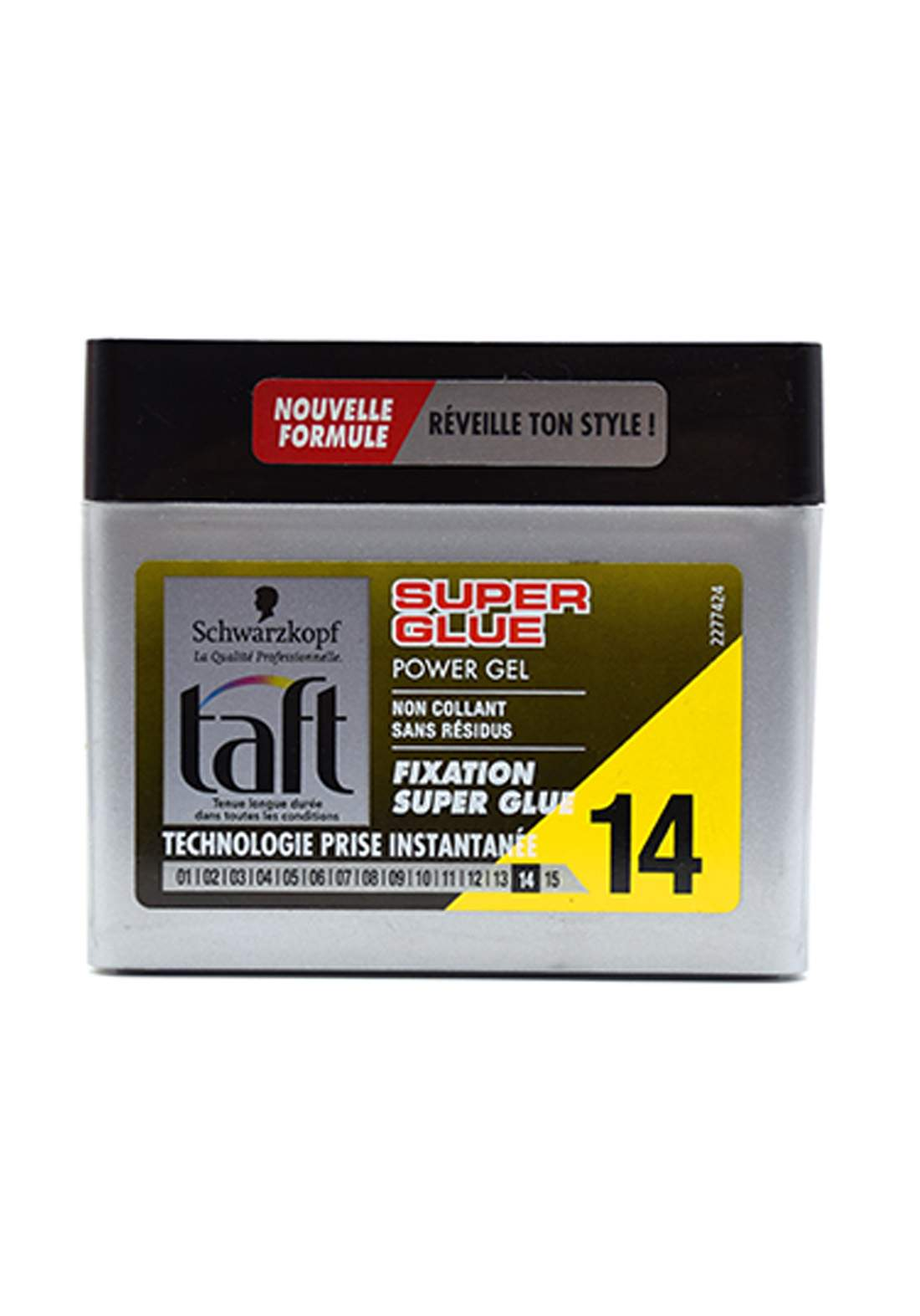 Schwarzkopf Taft Power Gel 14 - Super Glue - 250ml جل للشعر