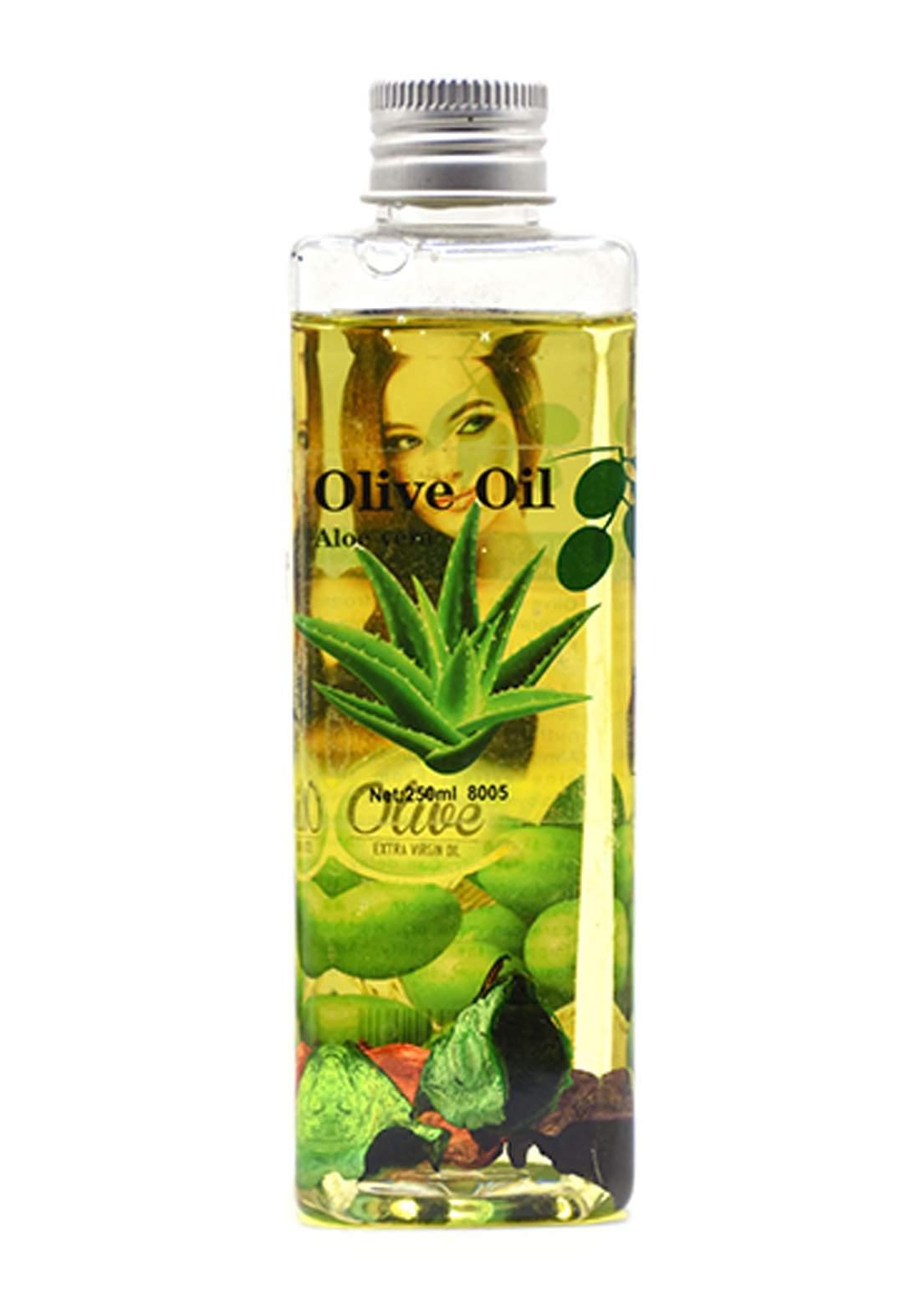 Olive Oil and Aloe Vera for Hair 250 ml زيت الزيتون والصبار للشعر