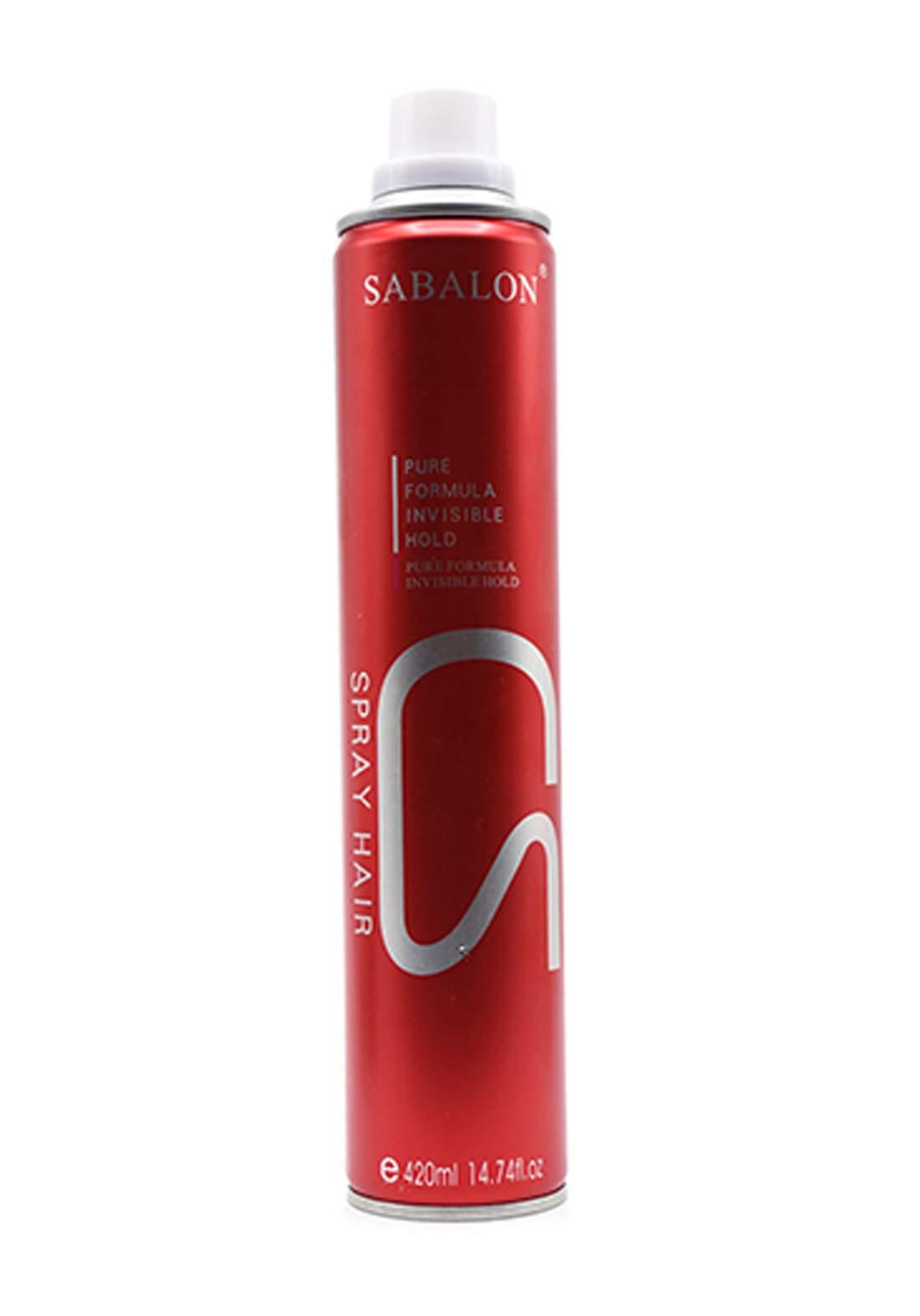 Sabalon Hair Spray 420 ml بخاخ مثبت للشعر