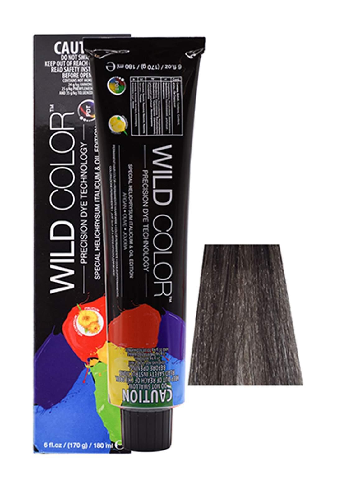 Wild Color Hair Color Cream 5.1 5A -Light  Ash  Brown صبغة شعر