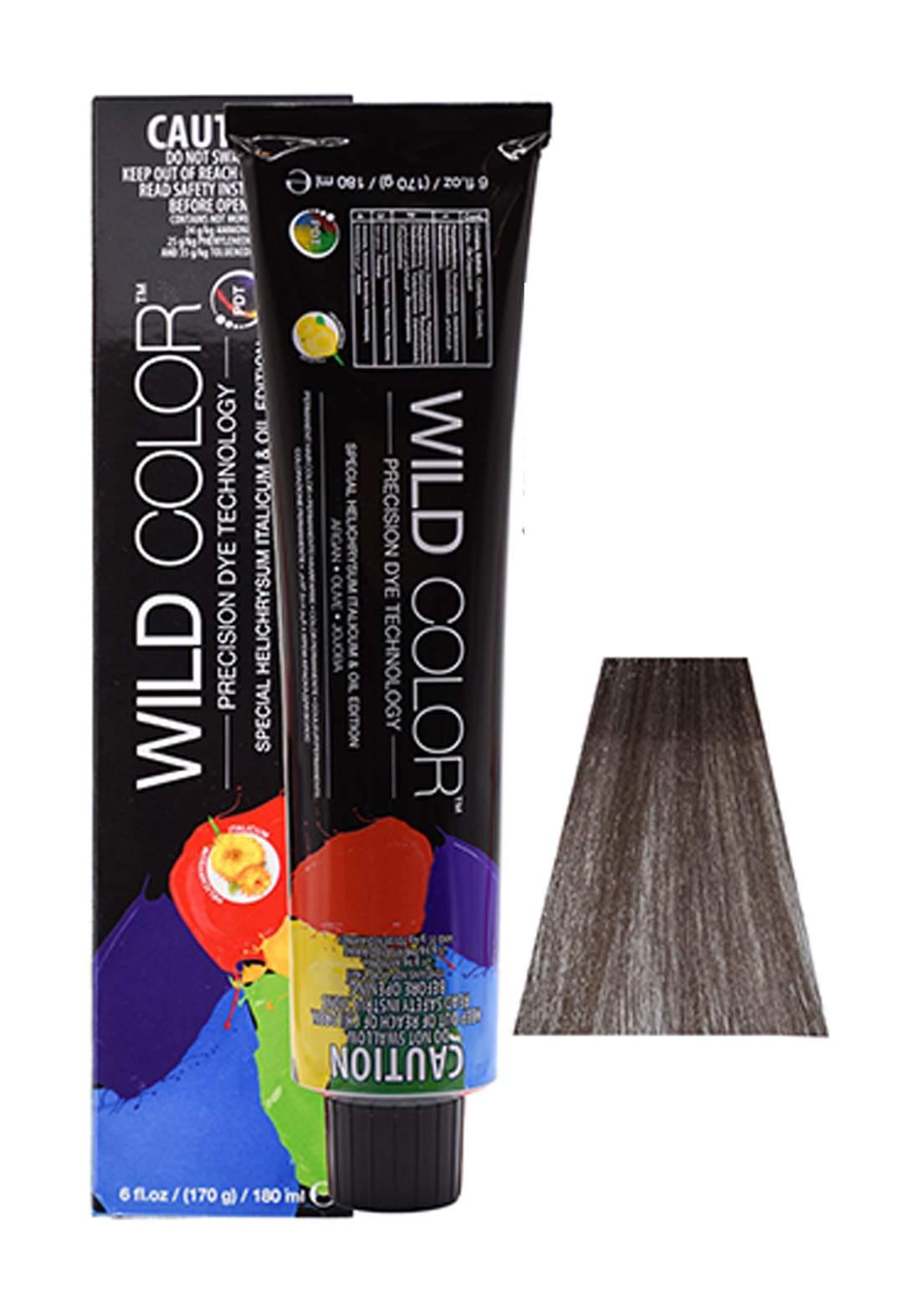 Wild Color Hair Color Cream 6.1 6A -Dark Ash  Brown صبغة شعر