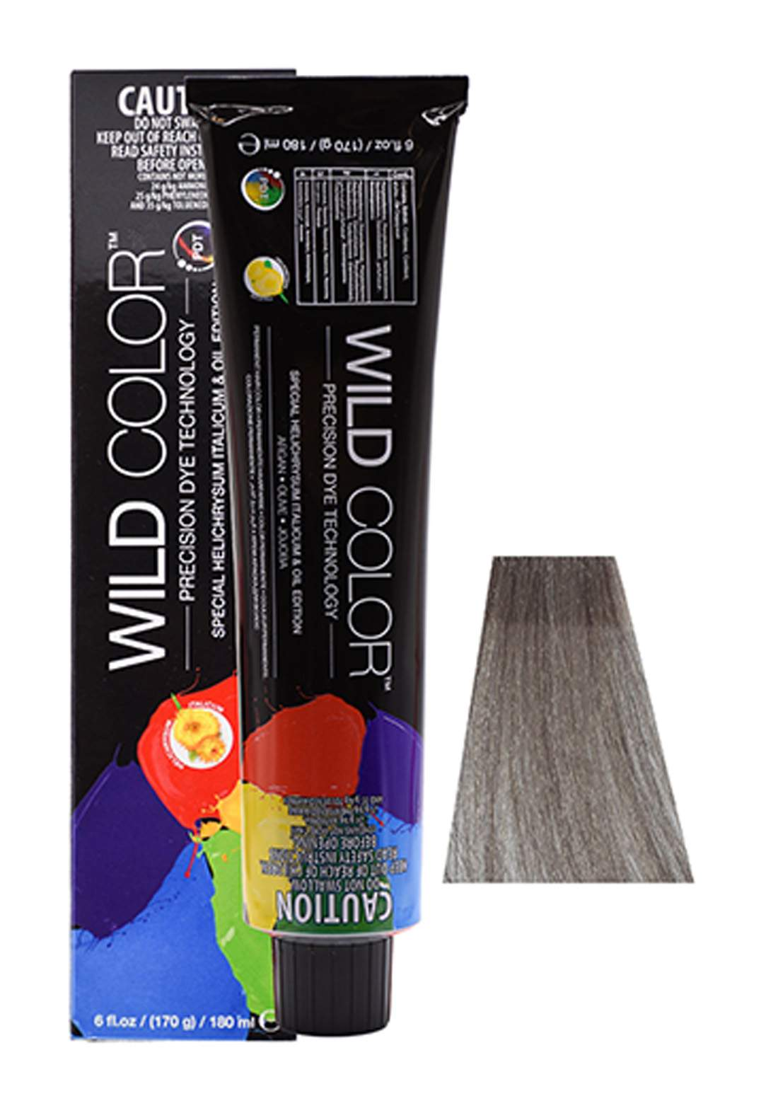 Wild Color Hair Color Cream 7.1 7A - Ash Blond صبغة شعر