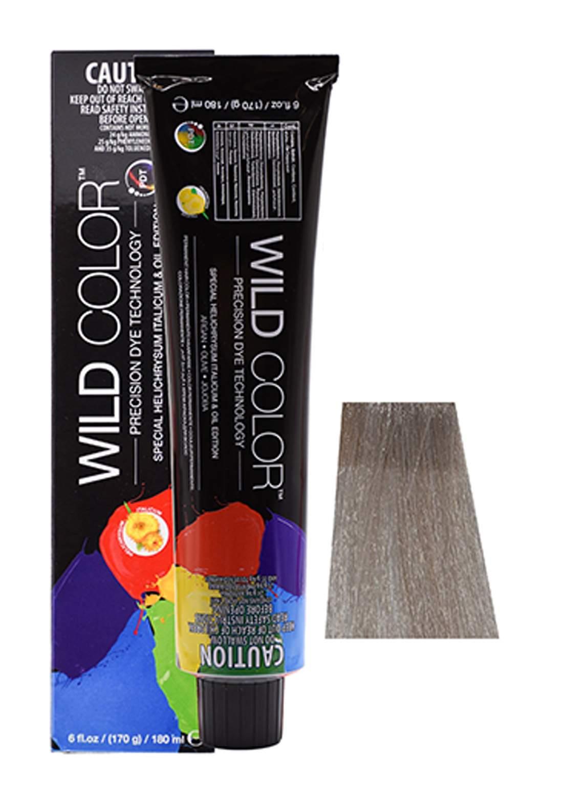 Wild Color Hair Color Cream 8.1 8A - Ligh Ash Blond صبغة شعر
