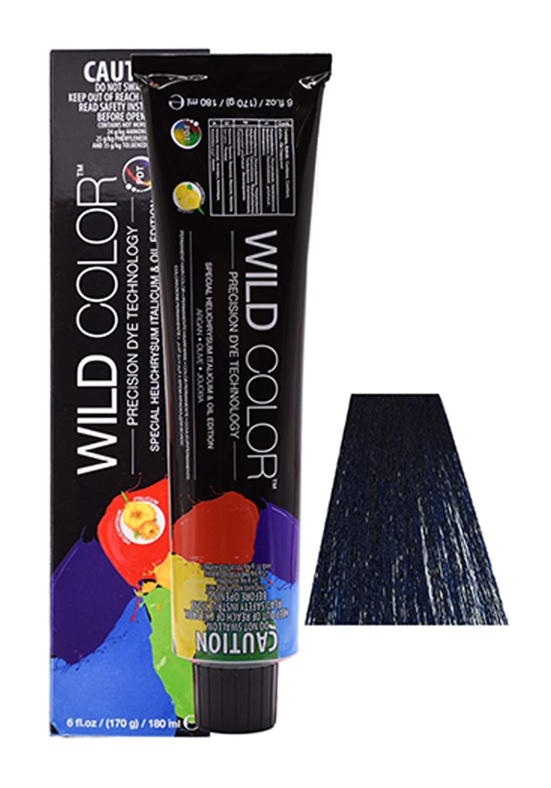 Wild Color Hair Color Cream BB-Blue Black صبغة شعر