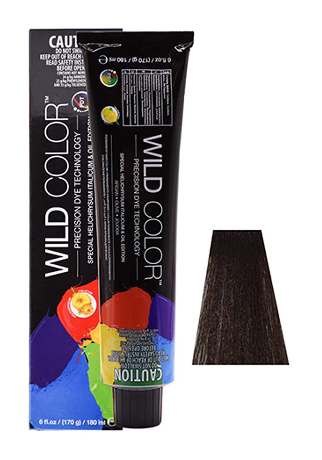Wild Color Hair Color Cream 4.3 4G -Golden  Brown صبغة شعر