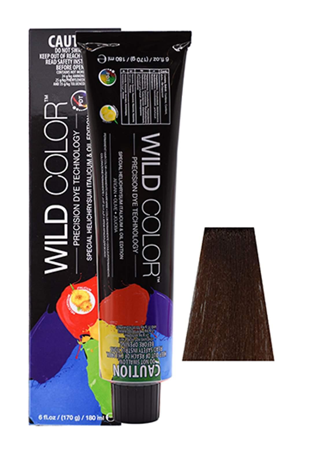 Wild Color Hair Color Cream 5.3 5G -Light  Golden  Brown صبغة شعر