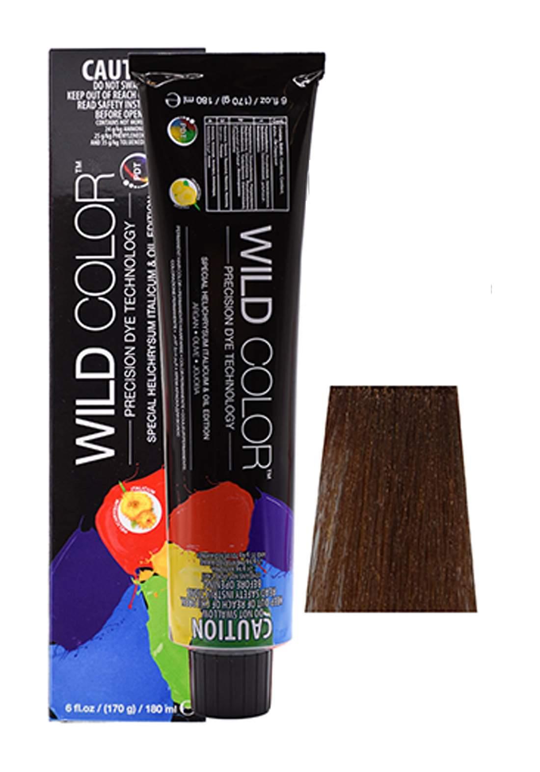 Wild Color Hair Color Cream 6.3 6G -Dark  Golden  Brown صبغة شعر