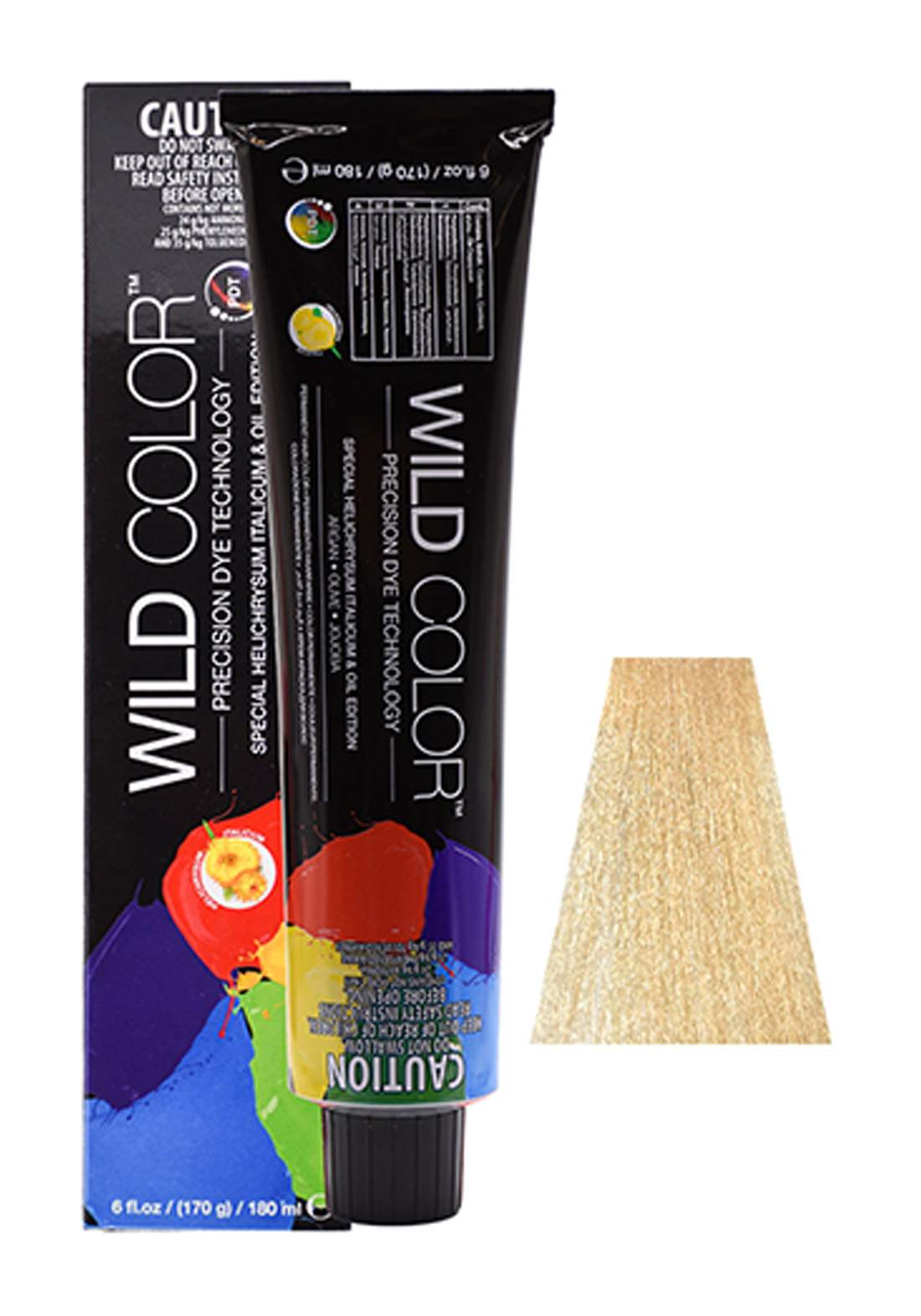 Wild Color Hair Color Cream 9.3 9G -Very Light Golden  Blond صبغة شعر