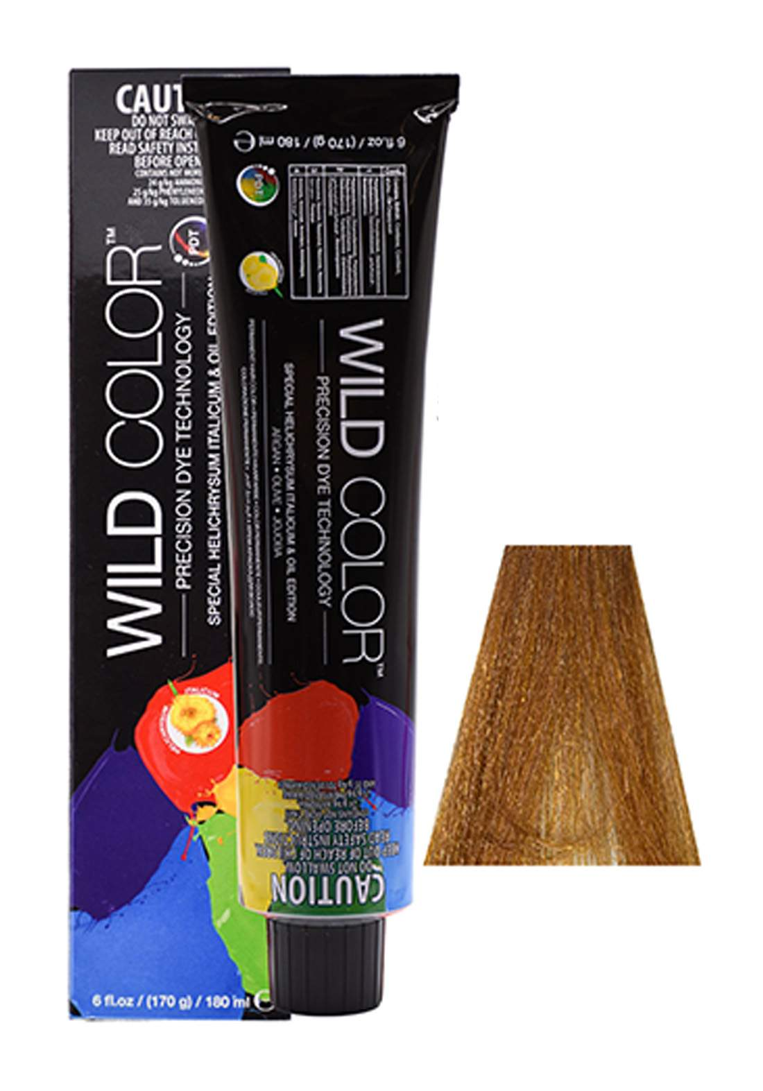 Wild Color Hair Color Cream 7.33 7GG -Intensive  Golden  Blond صبغة شعر