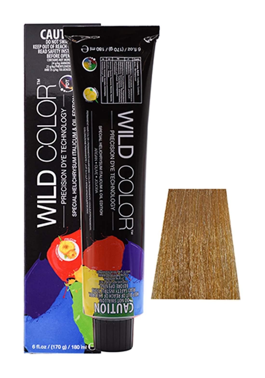 Wild Color Hair Color Cream 8.33 8GG -Intensive  Golden  Light Blond صبغة شعر