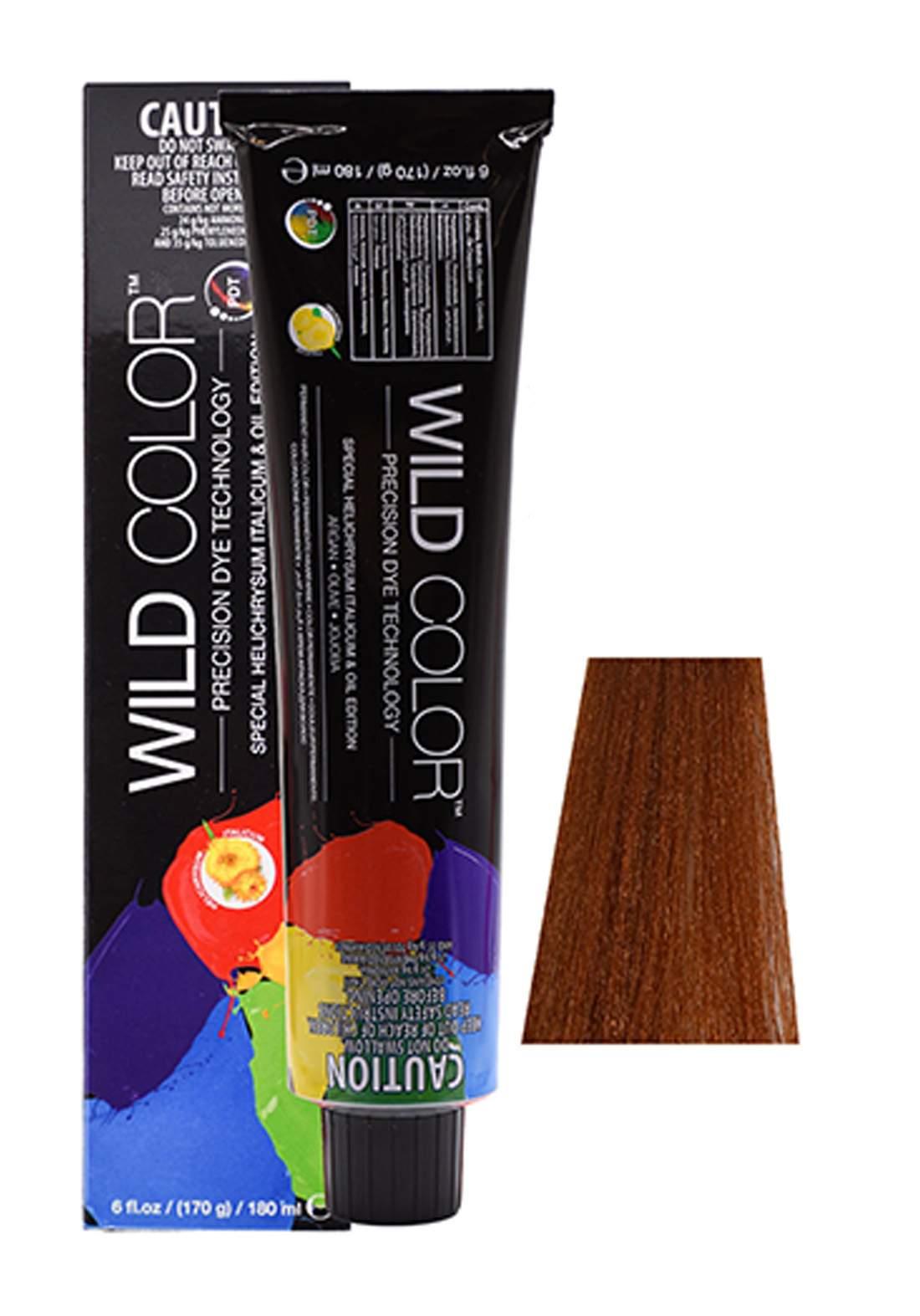 Wild Color Hair Color Cream 7.34 7GC -Gold Copper Blond صبغة شعر