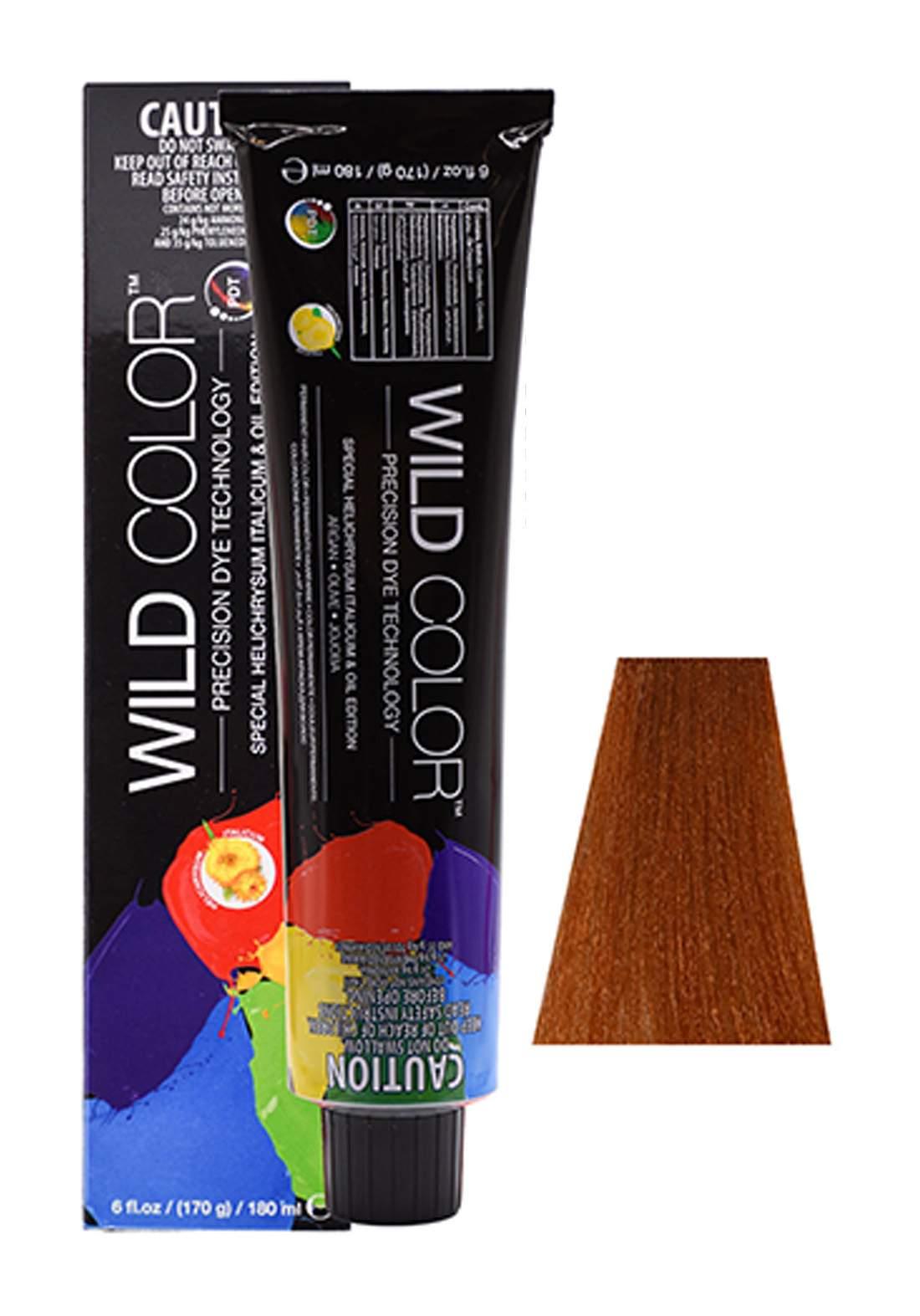 Wild Color Hair Color Cream 8.34 8GC -Light Gold Copper Blond صبغة شعر