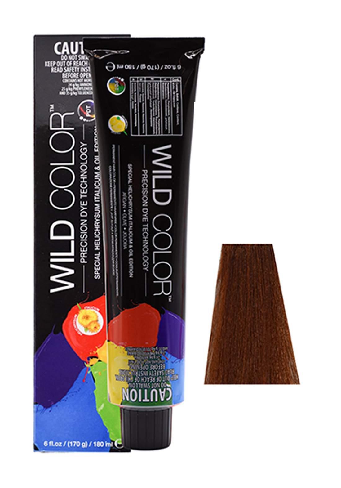 Wild Color Hair Color Cream 6.34 6GC -Dark Gold Copper Blond صبغة شعر
