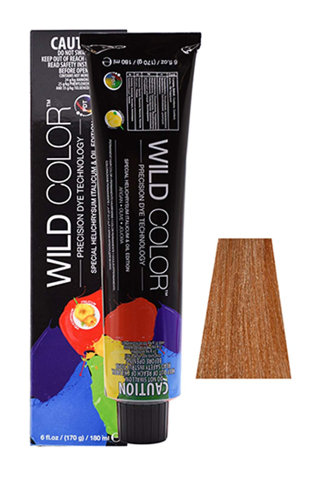 Wild Color Hair Color Cream 9.34 9GC -Very Light Gold Copper Blond صبغة شعر
