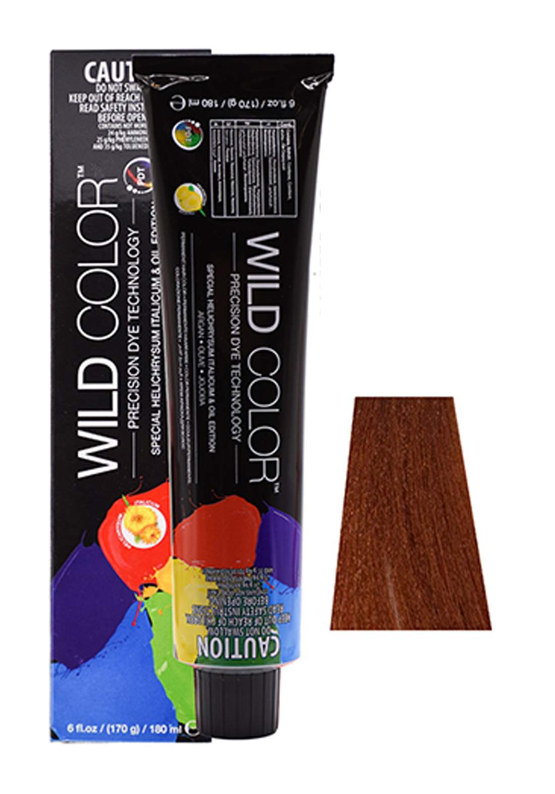 Wild Color Hair Color Cream 8.4 8C -Light Copper Blond صبغة شعر