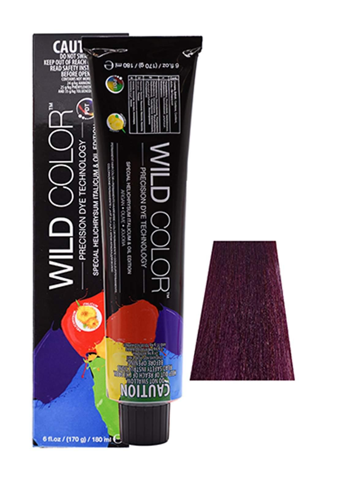 Wild Color Hair Color Cream 6.2 6V -Dark Violete Blond صبغة شعر