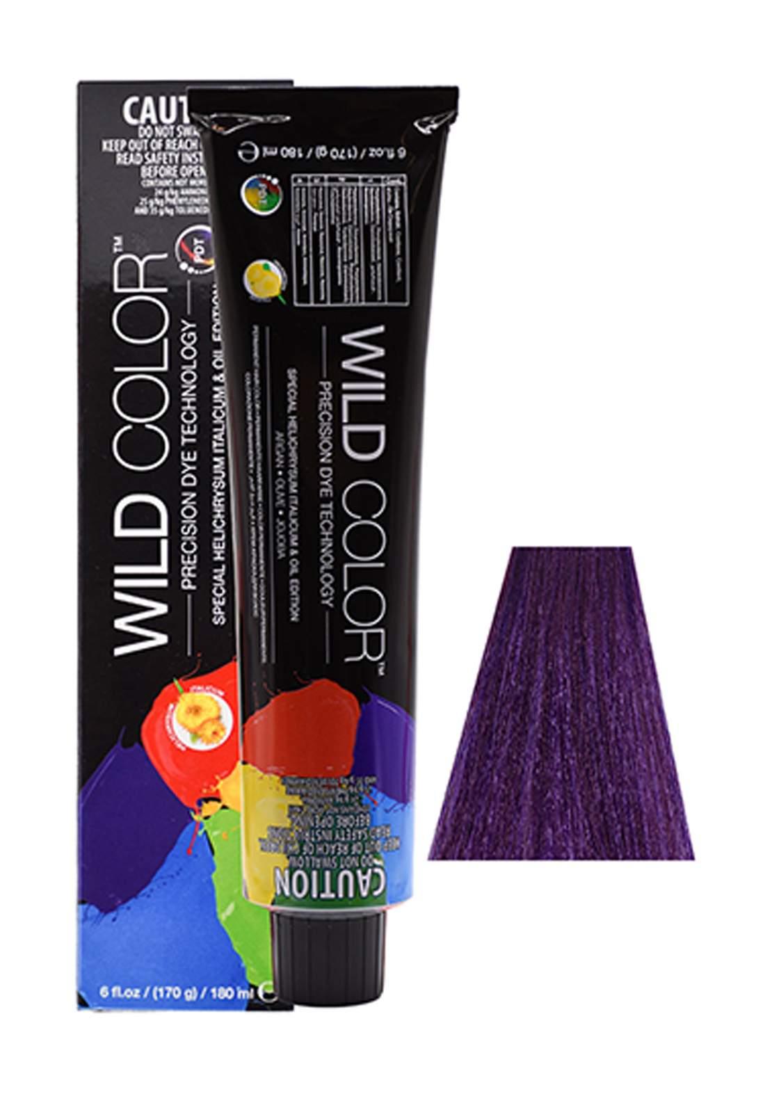 Wild Color Hair Color Cream 5.22 5VV -Intensive Violete  Light Brown صبغة شعر