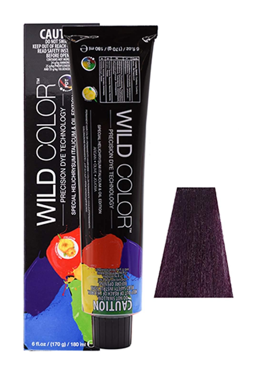 Wild Color Hair Color Cream 4.2  4V -Violete  Brown صبغة شعر