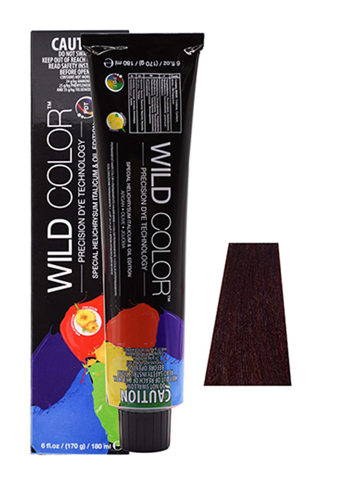 Wild Color Hair Color Cream 6.5  6M - Dark Mahogany Blond صبغة شعر